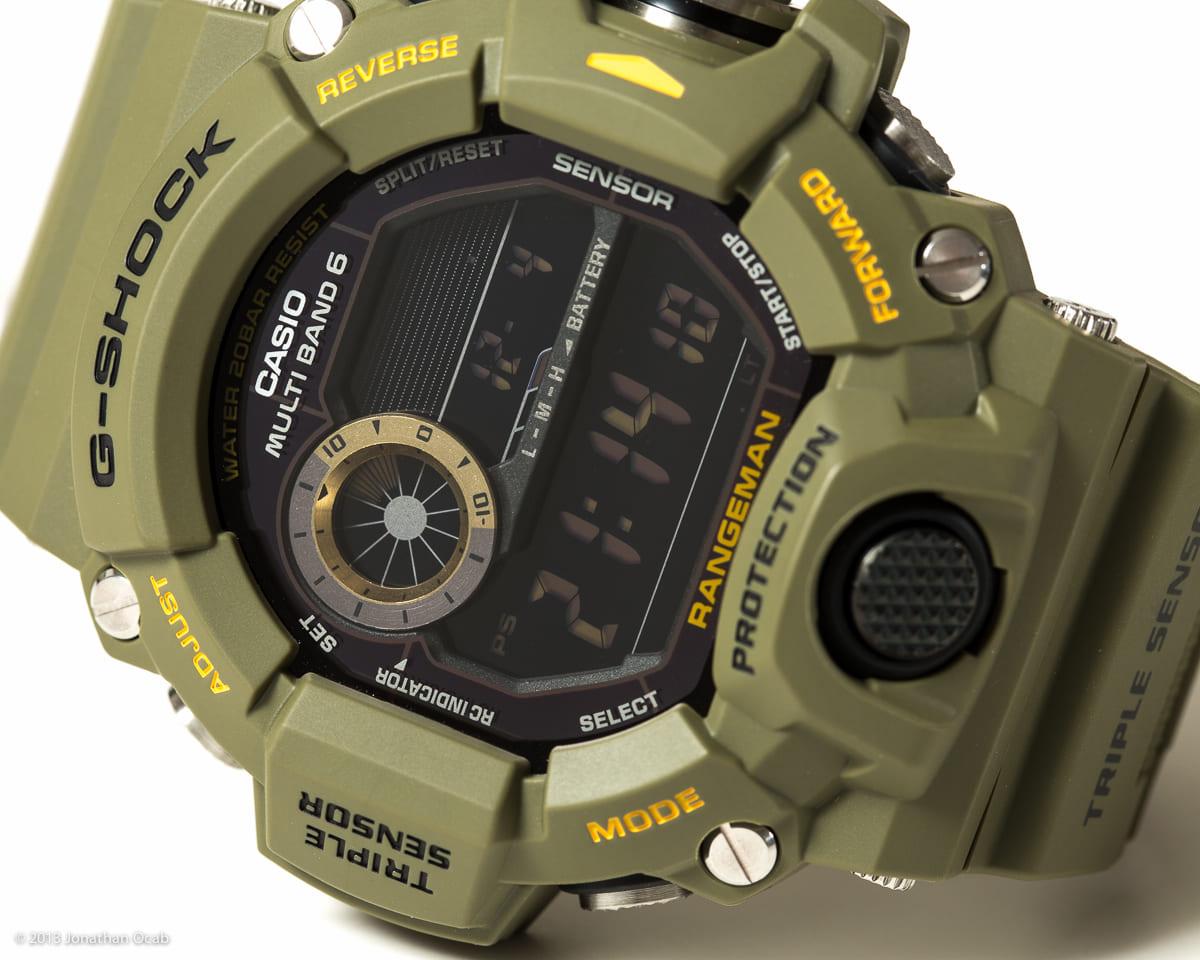 Casio G Shock Gw 9 400 3 Hijau Update Harga Terkini Dan Terlengkap Jam Tangan Pria 9400 1d Rangeman Original Side