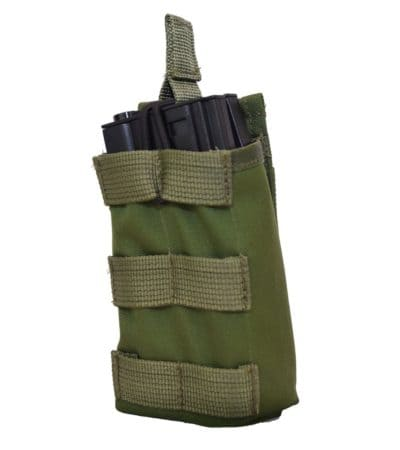 IDF Single M4_M16 Open Top Stacker_Mag_Pouch_side