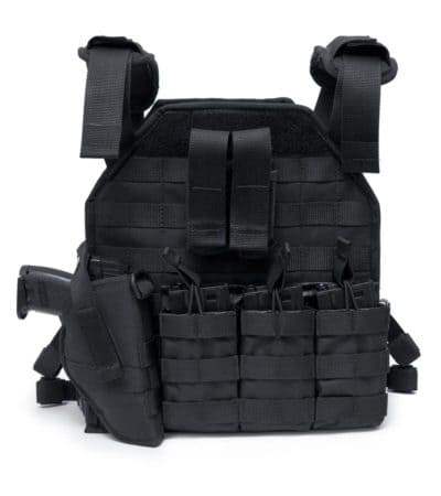 THE VENUM TACTICAL LIGHTWEIGHT PLATE CARRIER VEST - FULL PACKAGE