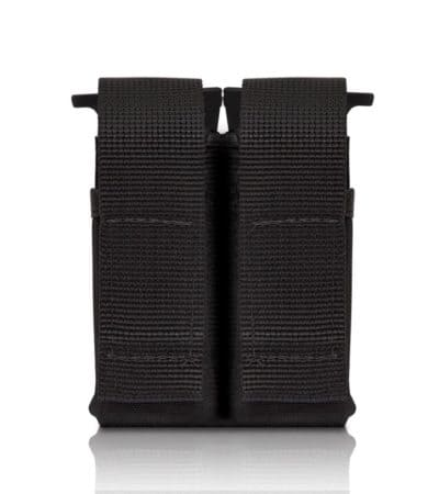 Tactical Double Pistol Mag Pouch_black