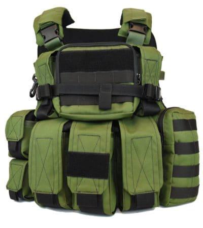 Tactical KERAMON MOLLE Vest IDF Military_Full