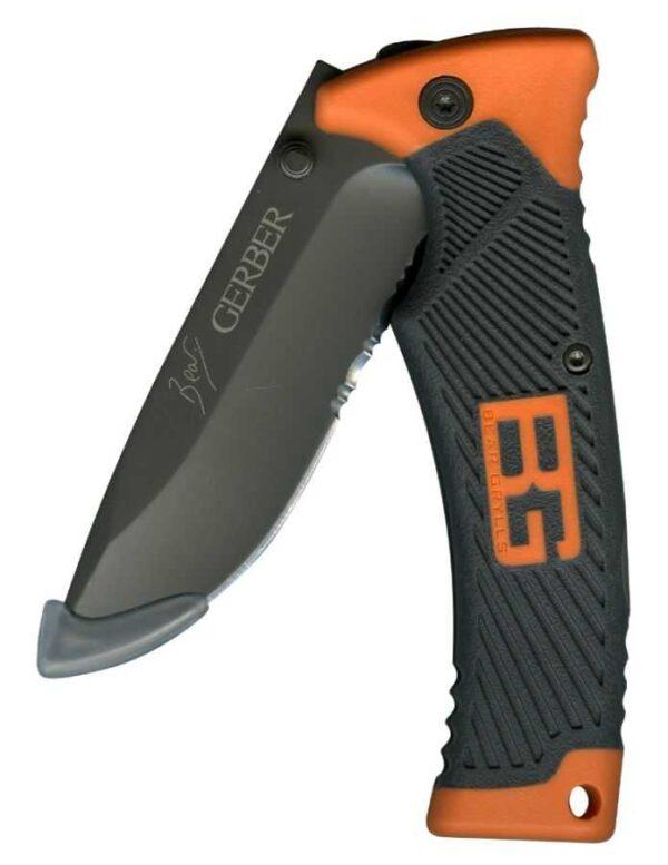 אולר Gerber BG Folding Sheath Knife