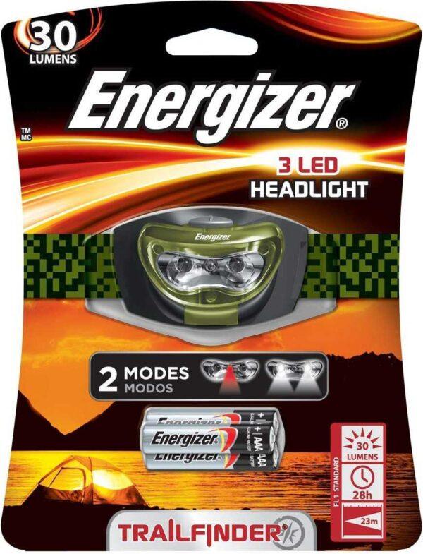 פנס ראש Enegizer LED
