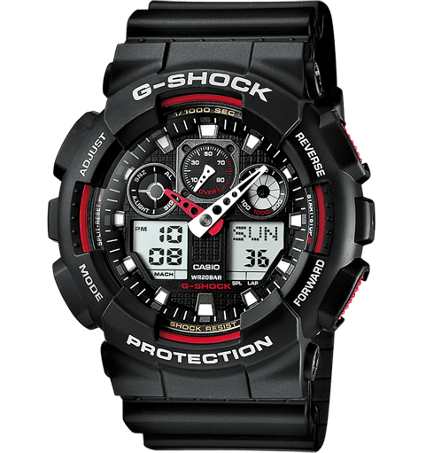 Casio G-Shock GA-100-1A2-1