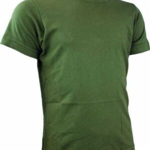 "Olive T-Shirt for ""Madei Bet"" Uniform"