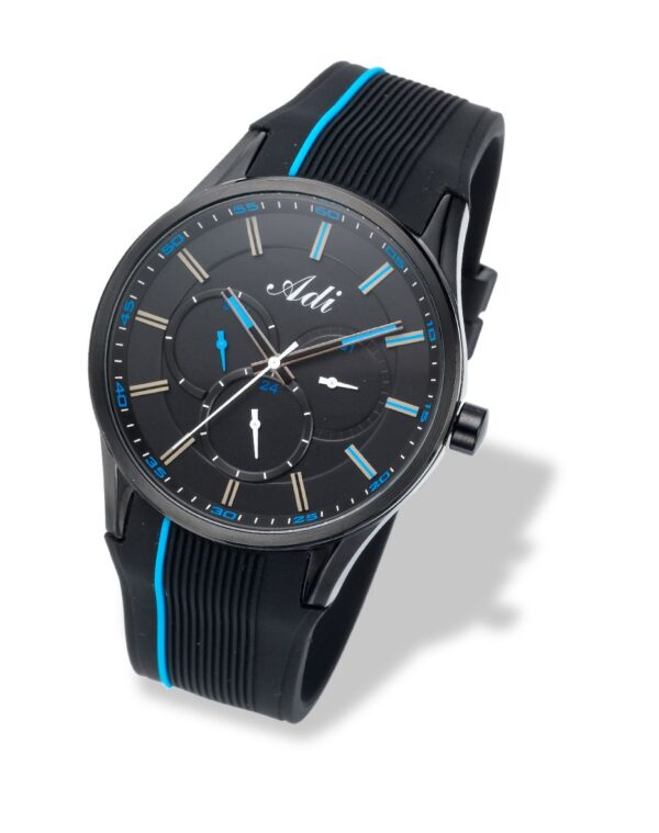 Adi Sport-Elegant Watch-blue