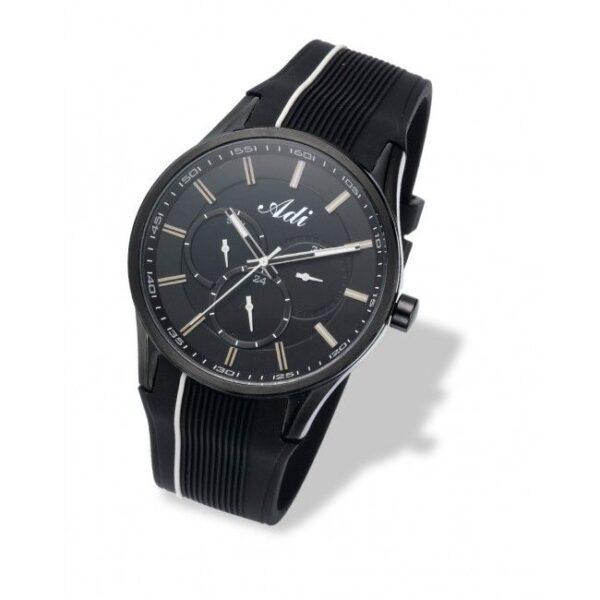 שעון כרונוגרף לגבר עם רצועת סיליקון – ADI
