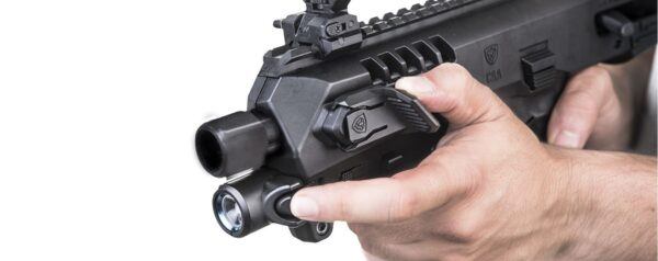 Integral Front Flashlight for Micro RONI-2