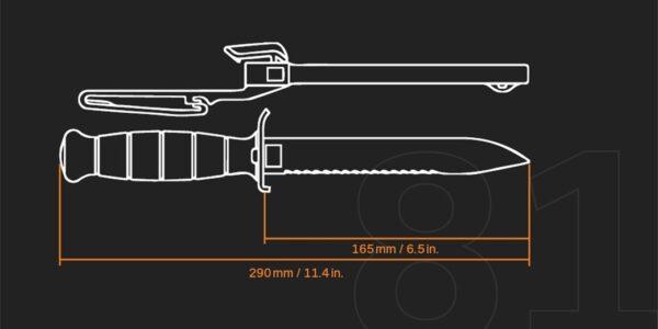 סכין - Glock FM 81
