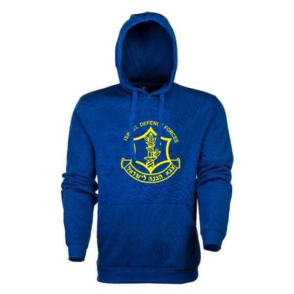 IDF Zahal Hooded Shirts-blue