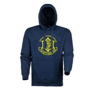 IDF Zahal Hooded Shirts  ₪95 ₪86  IDF Zahal Logo Hoodie SPECIFICATIONS:      Skin-friendly material     100% cotton     Hard wearing and practical  Size S-XXL Made in Israel Size Color SKU: IDFHoodedShirts Category: IDF Uniform      0     Shares  Product description