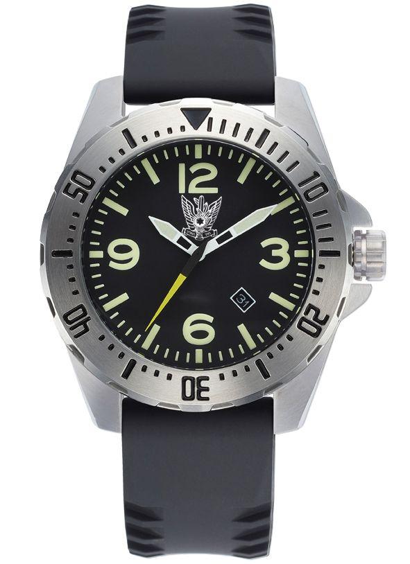 """שעון ספורטיבי לגבר עם סמלי צה""""ל – ADI"""