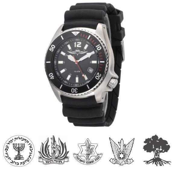 IDF Tactical-Elegant Watch-logos