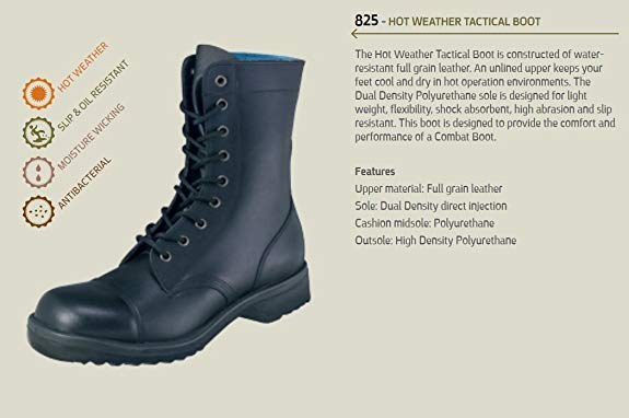 Israeli Army Military Light Boots-1