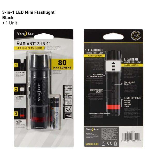 RADIANT 3-in-1 LED Mini Flashlight by Nite Ize-6