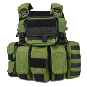 Tactical KERAMON MOLLE Vest IDF Military – Full Package
