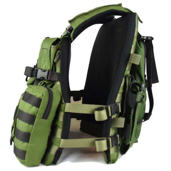 Tactical KERAMON MOLLE Vest IDF Military – Full Package-2