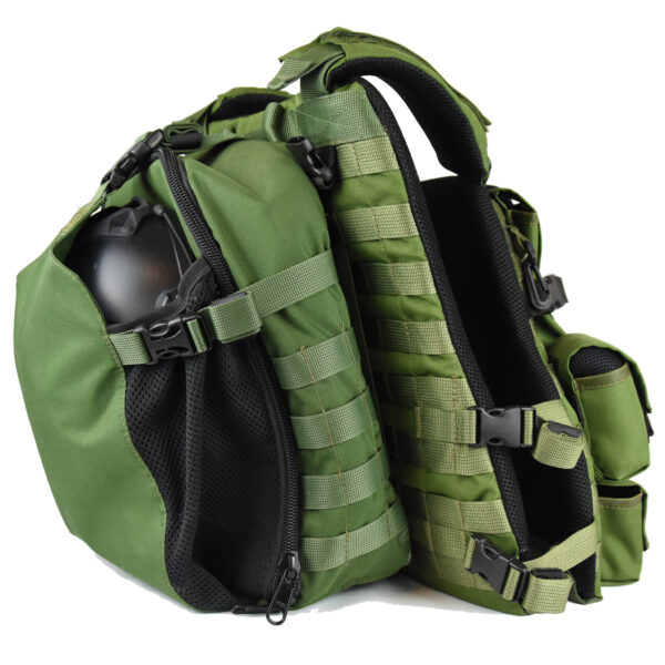 Tactical KERAMON MOLLE Vest IDF Military – Full Package-3