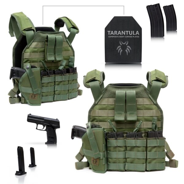 Venum Tactical Lightweight Plate Carrier Vest – FULL PACKAGE-3