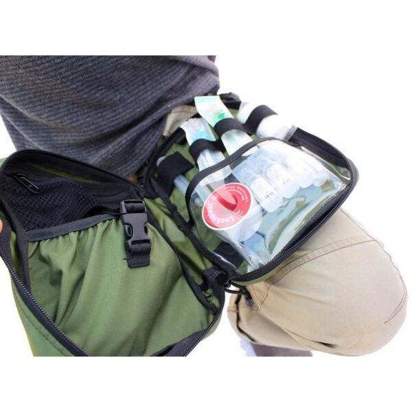 Paramedic Tactical Thigh Rig Green