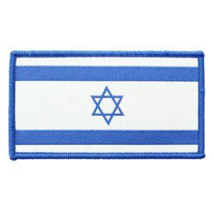 פאץ' דגל ישראל רקום עם סקוץ