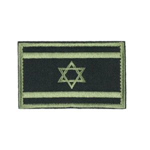 Israel Flag Morale Patch with Velcro