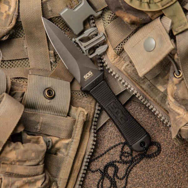 סכין להב קבוע SOG Mini Pentagon