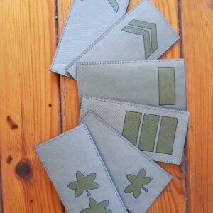 IDF Ranks Patch Velcro