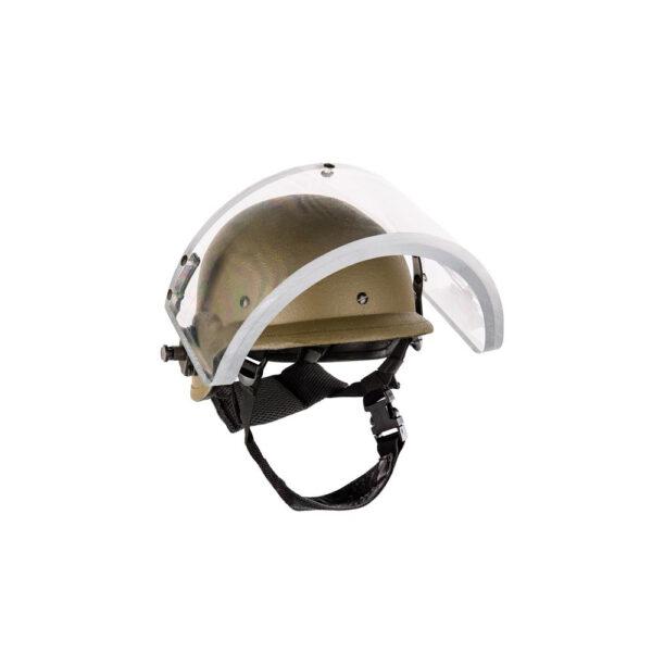 קסדה בליסטית עם מגן פנים IIIA